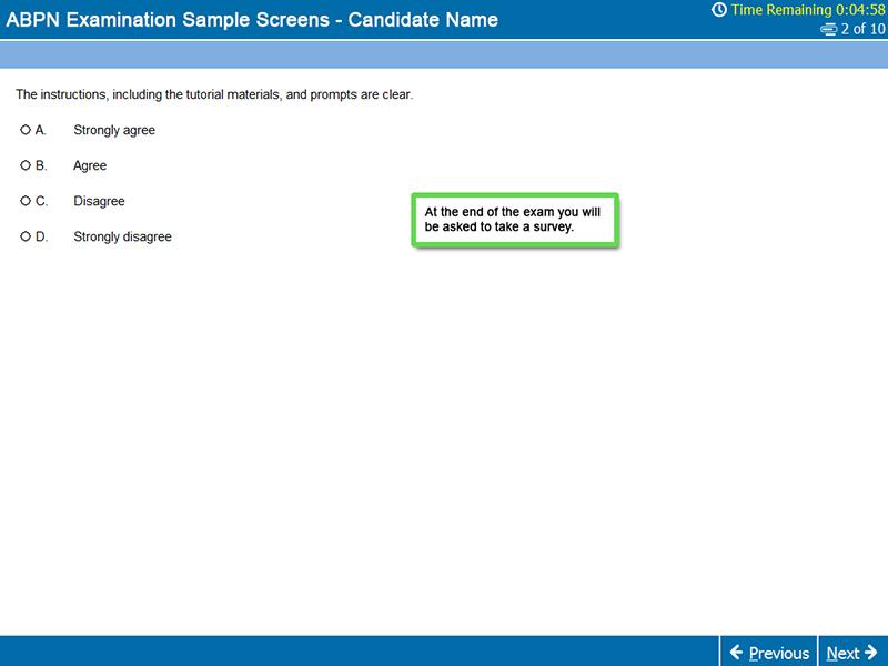 Survey Screen MOC